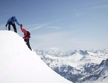 کوهنورد برف