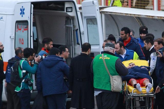 بازی سپیدرود و ملوان 14 مصدوم بجا گذاشت/11 نفر به بیمارستان پورسینا منقل شدند