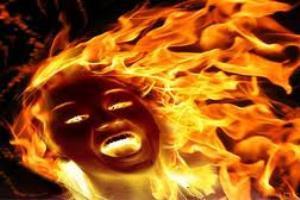 مردی که همسر و فرزندش را به آتش کشید/قاتل:زنم با دو تن از دوستانم در ارتباط بود