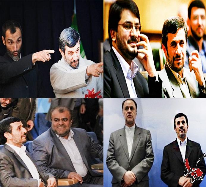 """یاران احمدی نژاد گرد و خاک به پا کردند/نامزد های """"مینیاتوری"""" در اندیشه پاستور+عکس"""