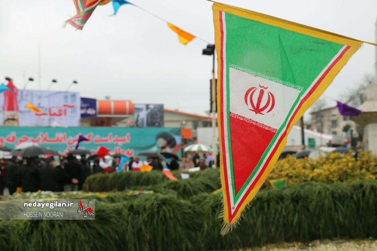 گزارش تصویری راهپیمایی 22 بهمن در رشت (2)