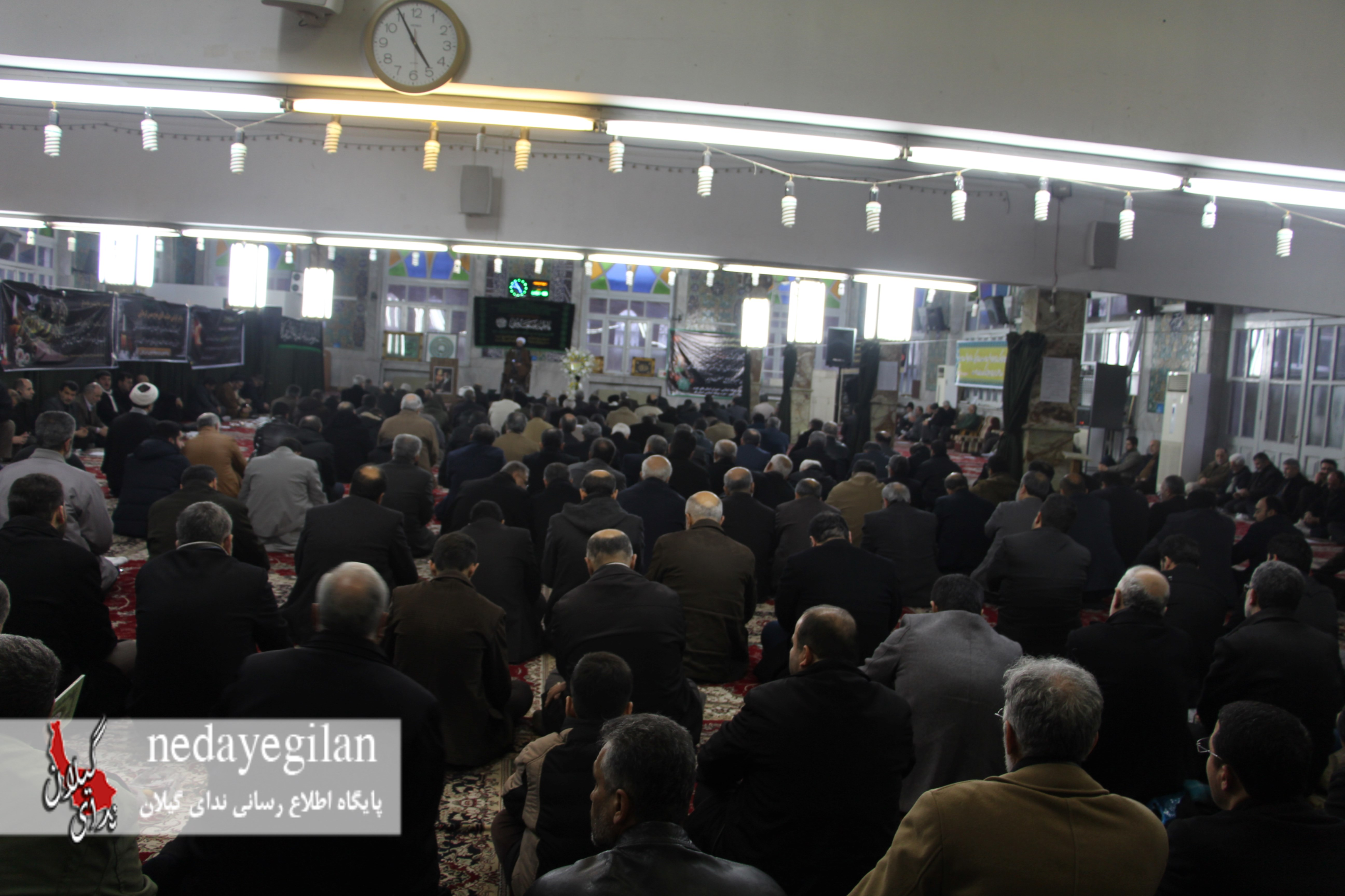 گزارش تصویری مراسم ختم والده حاج حسن کربلایی در مهدیه رشت