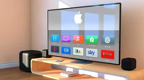 اپل به دنبال انقلاب در تولید تلویزیون/4k با طعم سیب گاز زده!