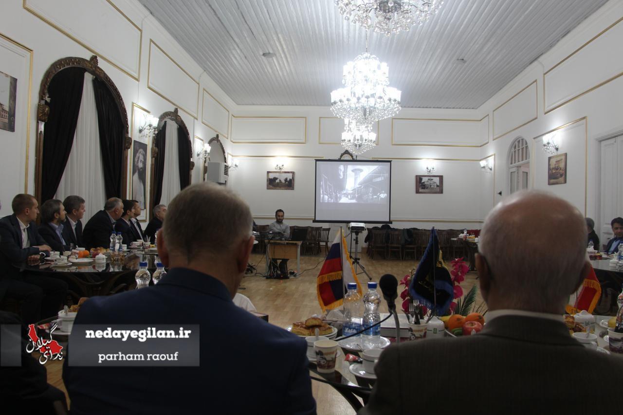 گزارش تصویری سفر هیئت عالی رتبه استان ولگوگراد روسیه به رشت