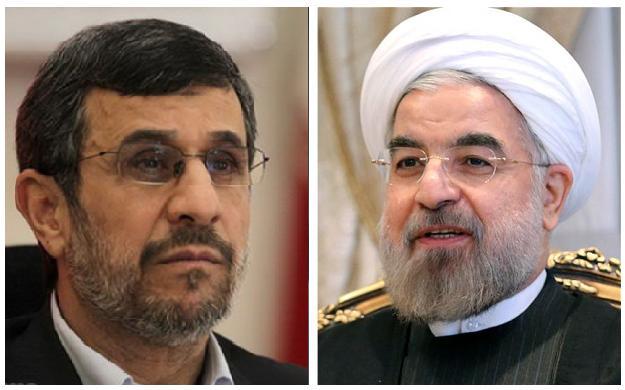 واکنش احمدی نژاد به اظهارات روحانی:باید روشن شود مقصود این ادعاهای کذب چیست