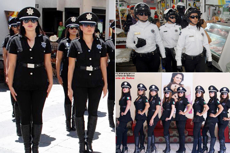 ژست پلیس های زن در کشورهای مختلف را ببینید!