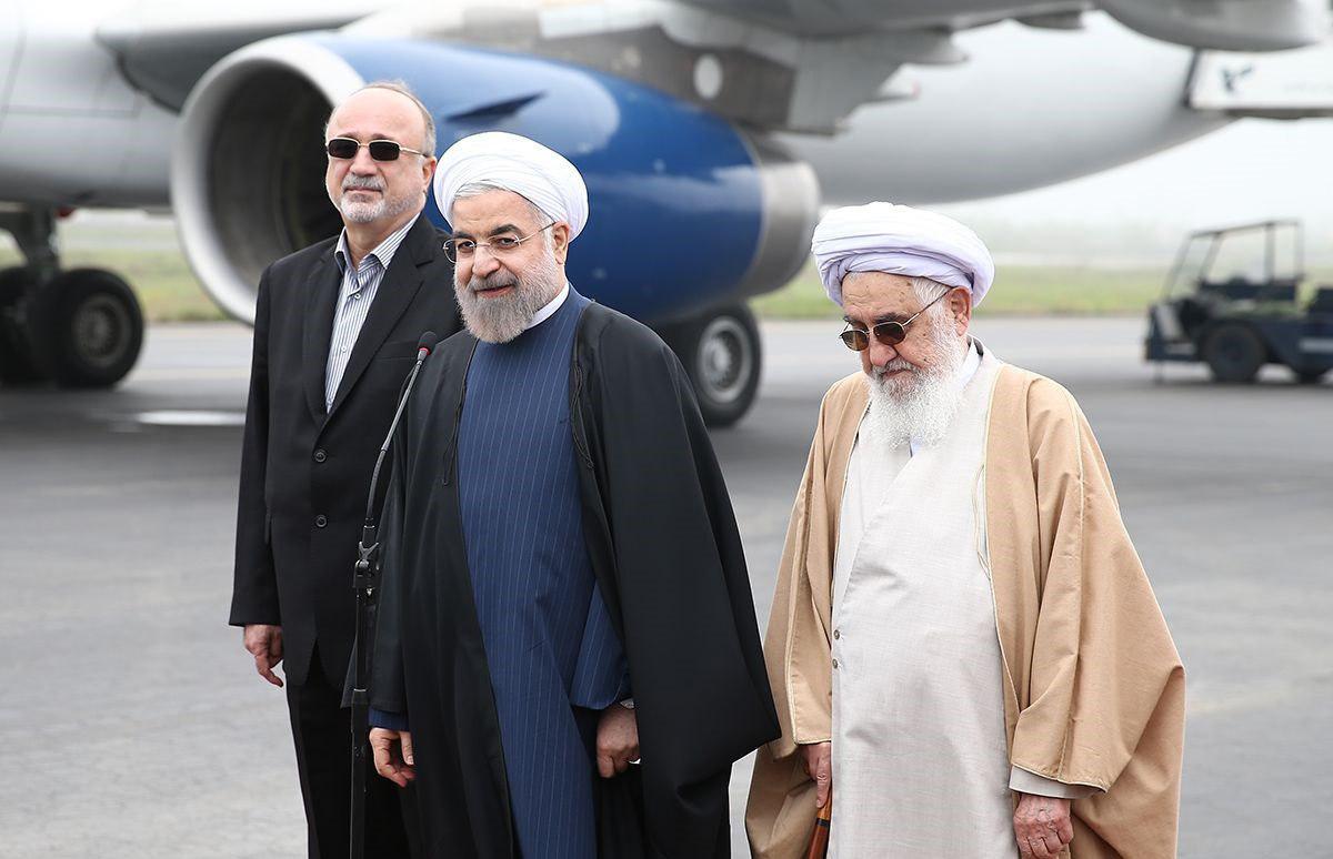 تاکید رئیس جمهور به اتمام پروژه های راه آهن گیلان/روحانی:گیلان شاهد تحولات مثبت اقتصادی خواهد بود