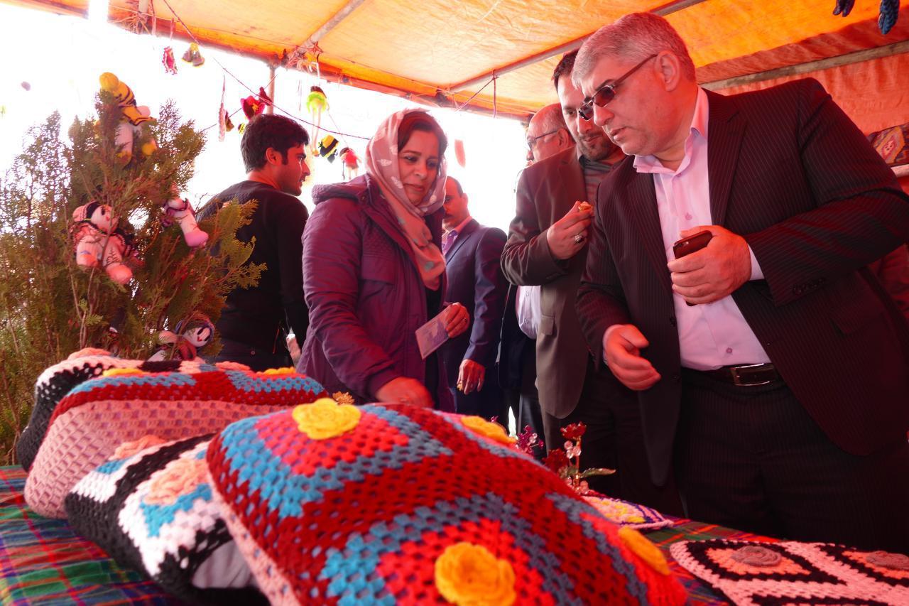 راه اندازی غرفه ی دائمی ارائه ی محصولات صنایع دستی در ماسال