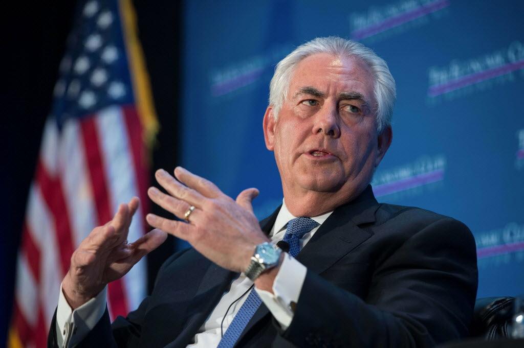 """وزیر امورخارجه امریکا عید نوروز را تبریک گفت/تیلرسون موضع خود را در قبال """"خلیج فارس""""مشخص کرد"""
