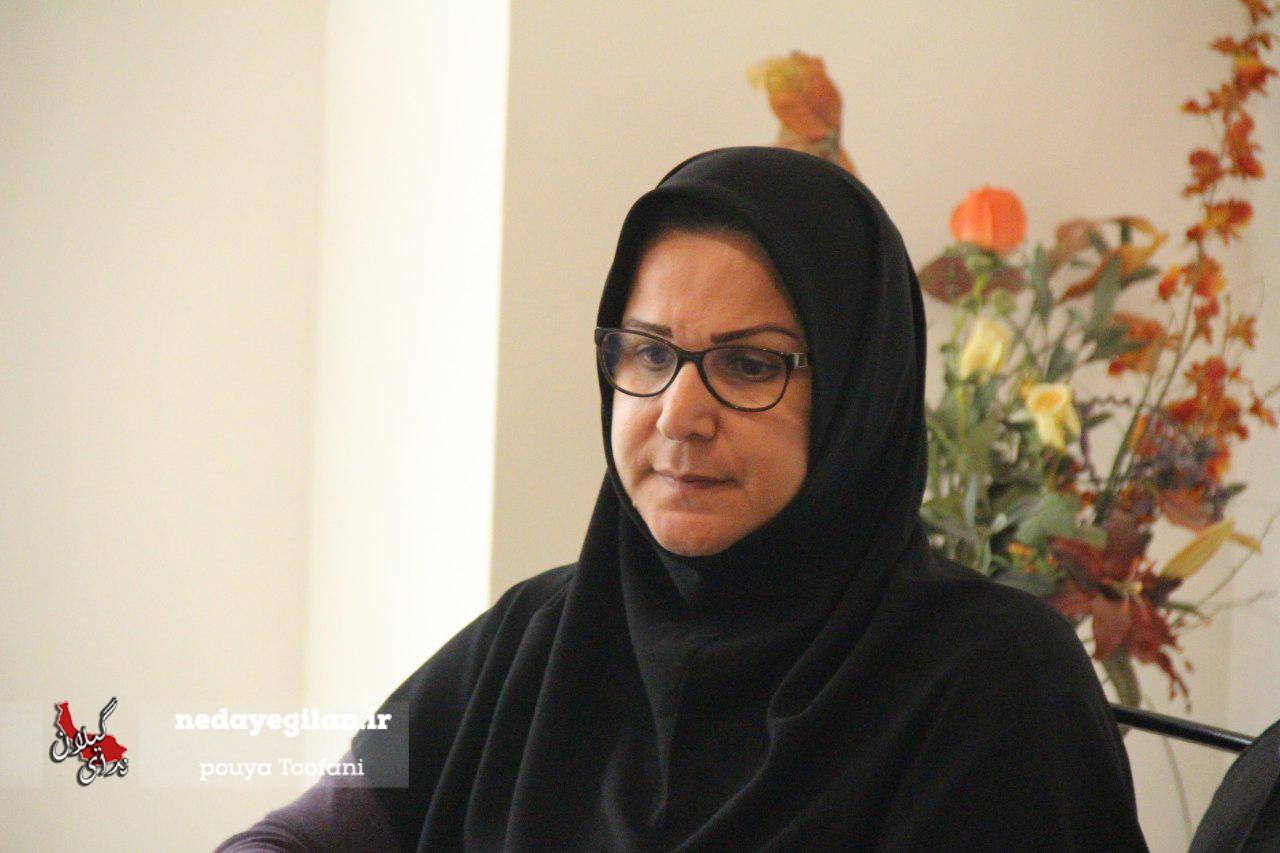 ژاله حساس خواه بعنوان رئیس ستاد ویژه حسن روحانی در گیلان منصوب شد