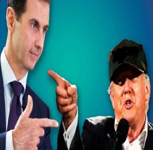 ترامپ میخواست کاخ بشار اسد را بمباران کند
