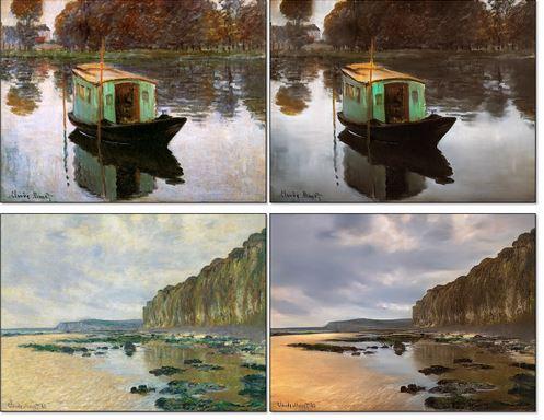 هوش مصنوعی نقاشی های قدیمی را به عکس تبدیل می کند+تصاویر