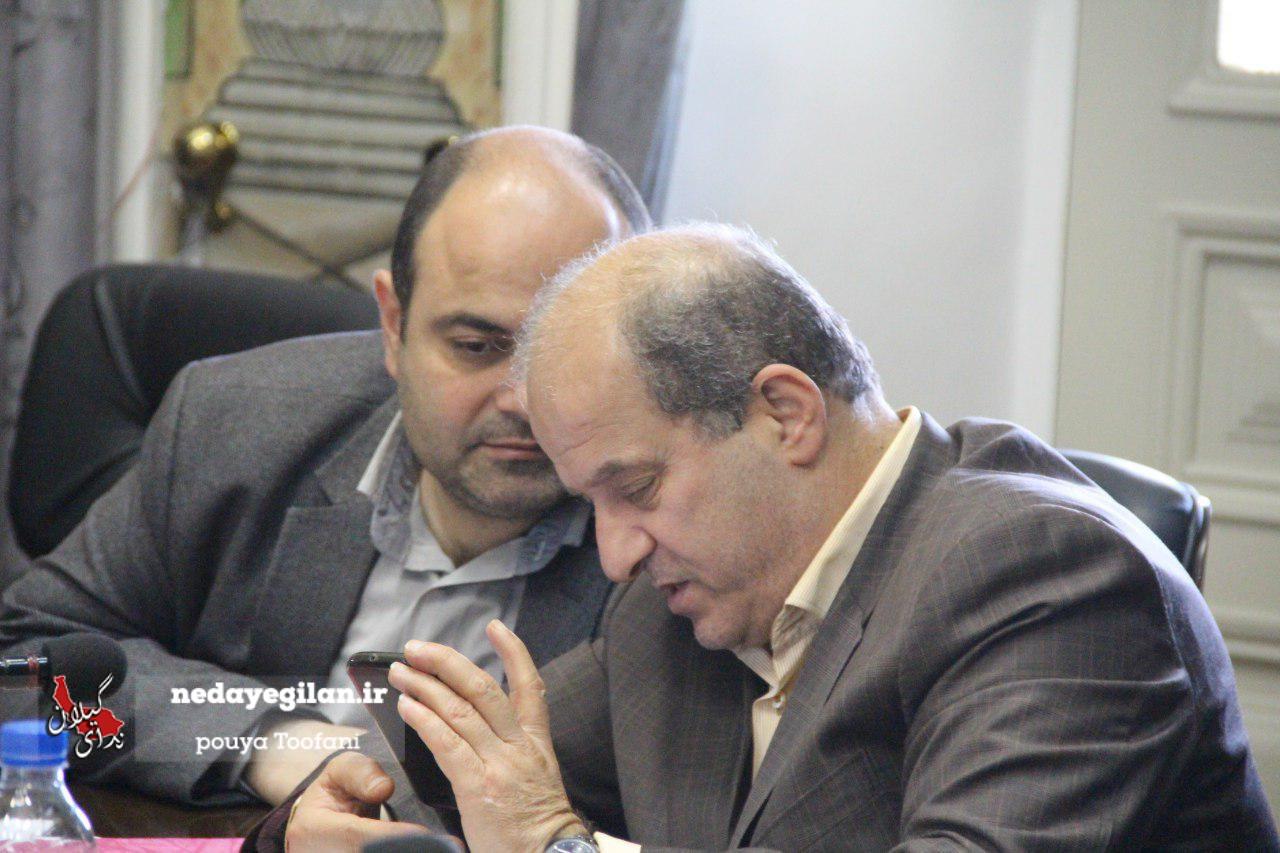 گزارش تصویری صدو هشتاد و ششمین جلسه شورای شهر رشت