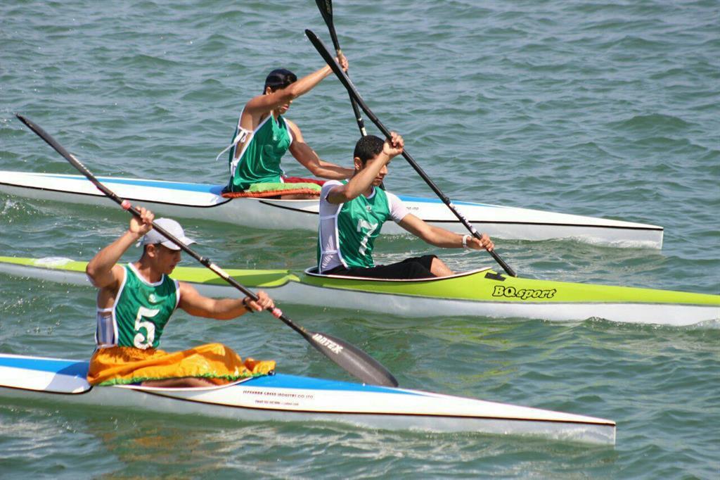 کسب 7 عنوان قهرمانی و نایب قهرمانی توسط قایقرانان گیلان