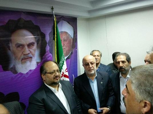 ستاد اصولگرایان حامی حسن روحانی افتتاح شد+عکس