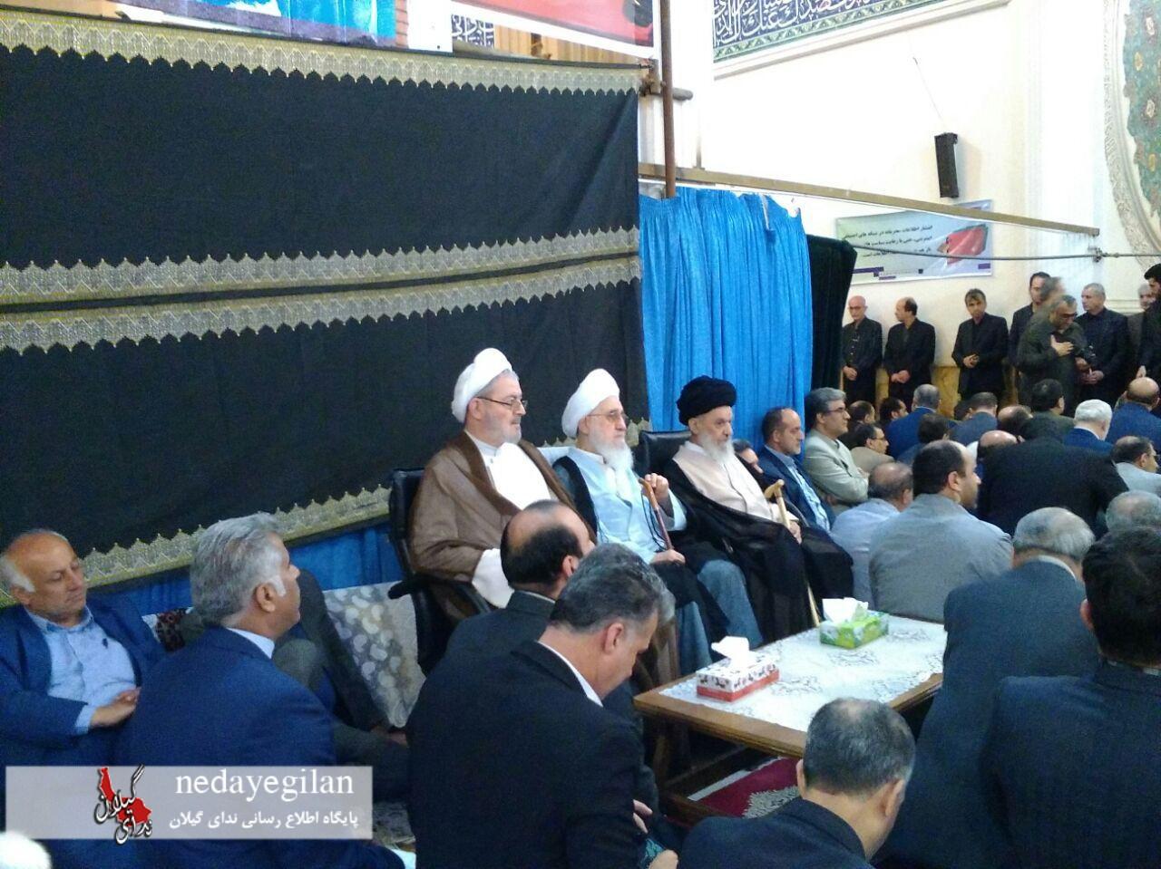 گزارش تصویری مراسم نکوداشت یاد و خاطره استاندار فقید گیلان در مصلی امام خمینی رشت