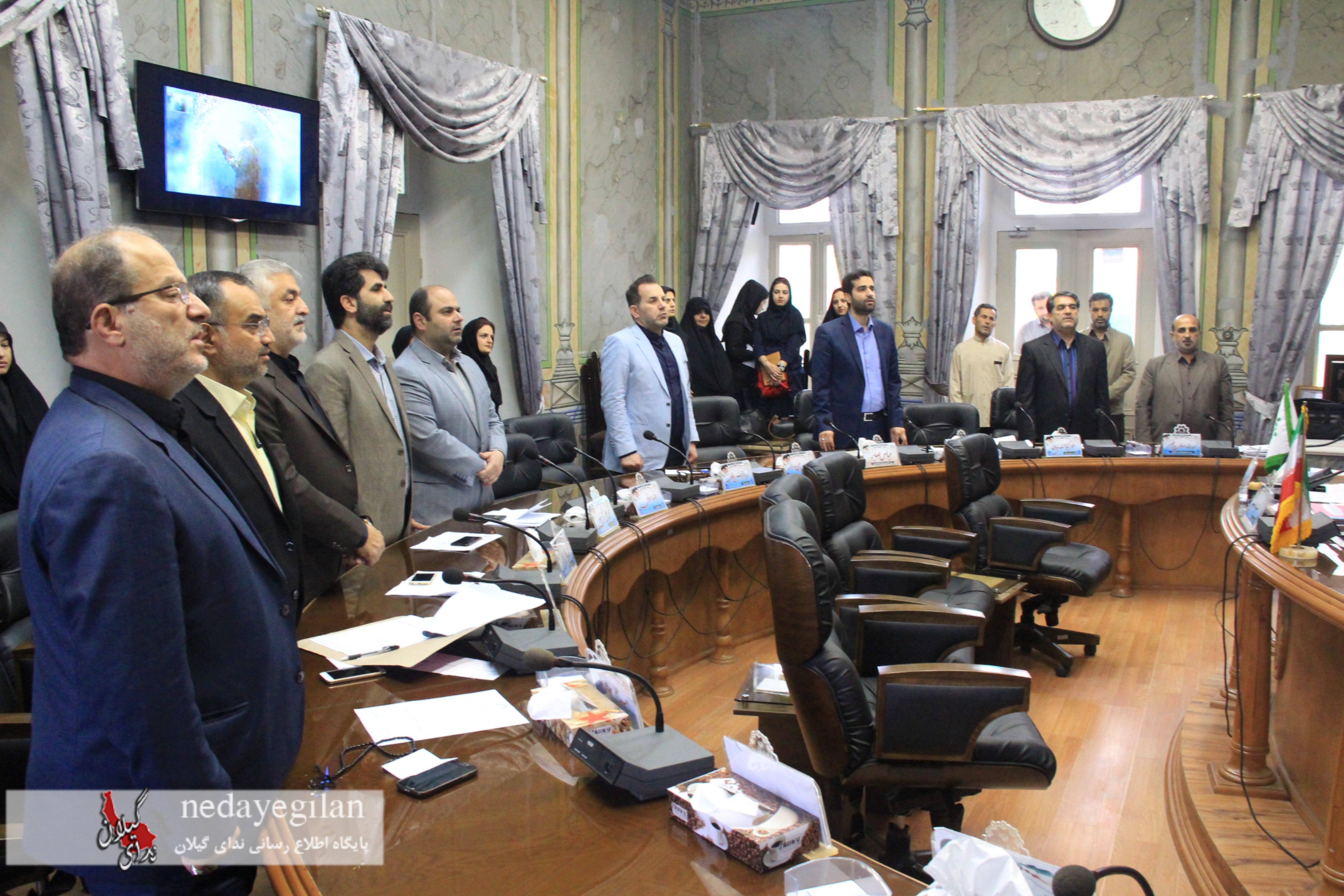 گزارش تصویری صدو نود و سومین جلسه صحن شورای اسلامی شهر رشت