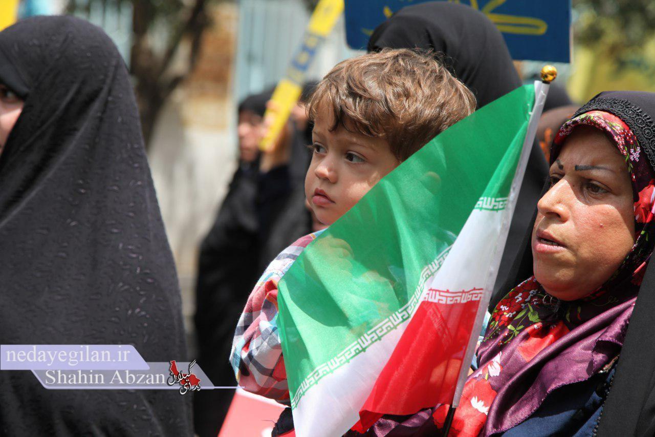 گزارش تصویری حضور باشکوه مردم رودبار در راهپیمایی روز جهانی قدس