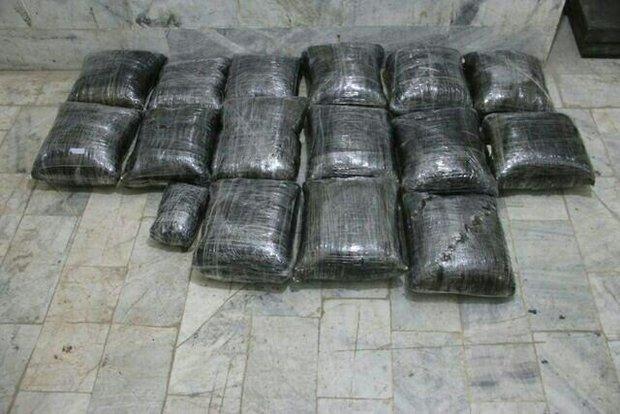 ماجرای کشف ۱۰۰ کیلوگرم مواد مخدر در گیلان/انبار مواد مخدر در فومن کشف شد