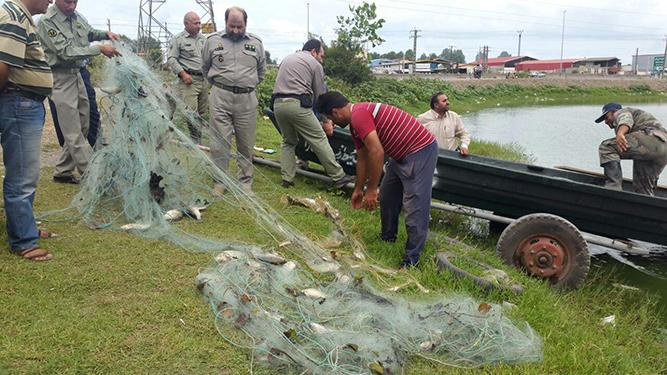 پاکسازی تالاب استیل آستارا از ادوات صید غیر مجاز