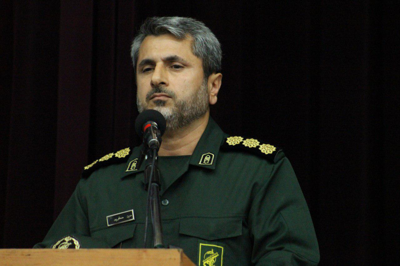 سرهنگ حسین مصطفی پور فرمانده سپاه ناحیه رشت شد