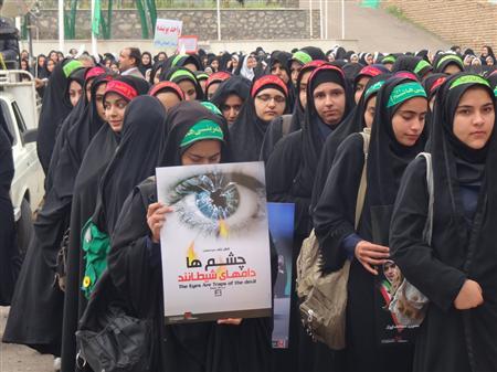 برگزاری راهپیمایی حجاب و عفاف در سراسر گیلان