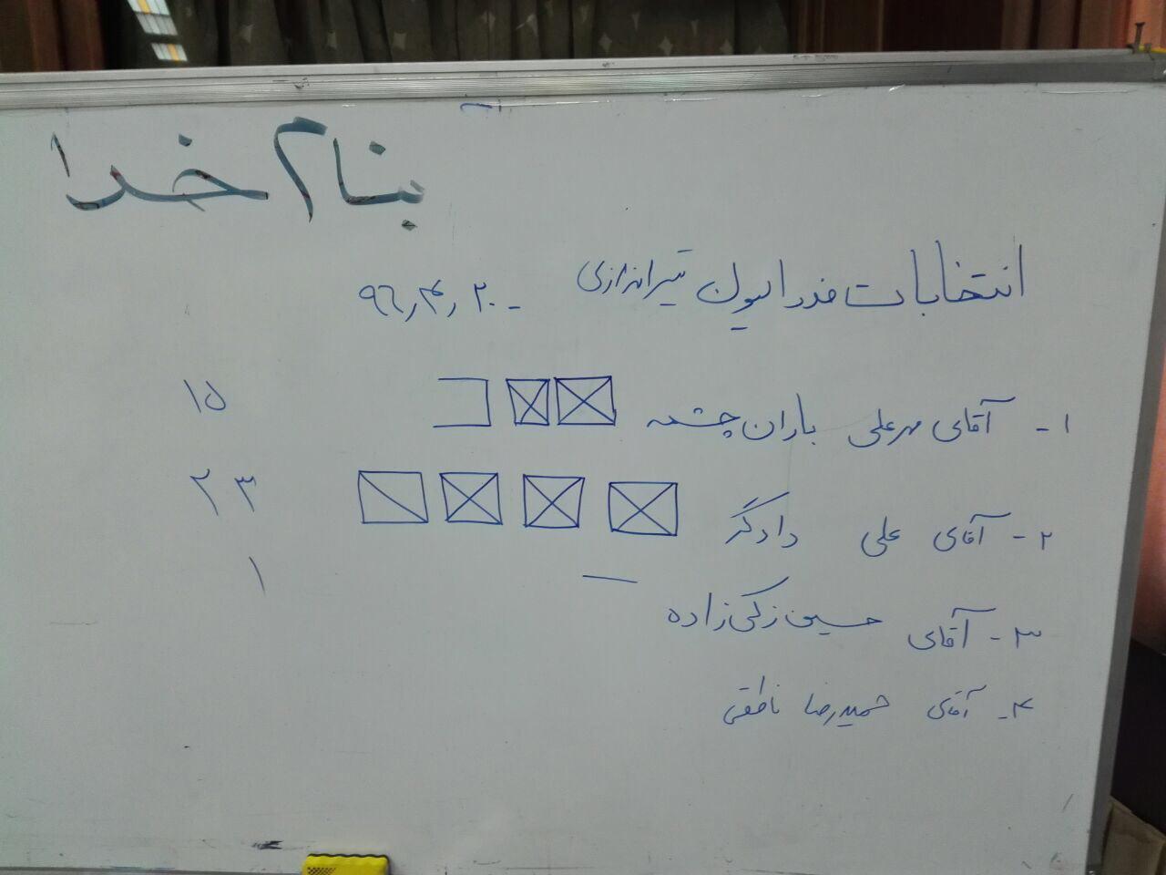 علی دادگر رئیس فدراسیون تیراندازی شد