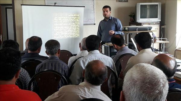برگزاری کلاس آموزشی بیماریهای مشترک انسان و دام در شفت