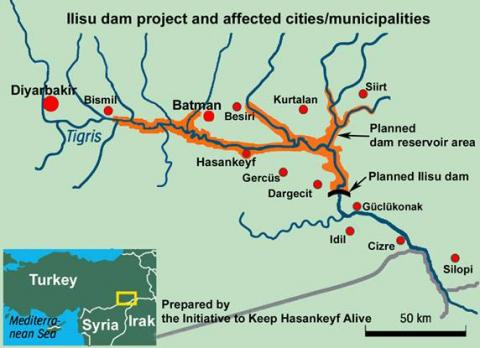 ایرانی ها ریزگرد استنشاق کنند تا ترکیه سد بزند!/ ایلیسو جنوب غربی ایران را بیابان می کند