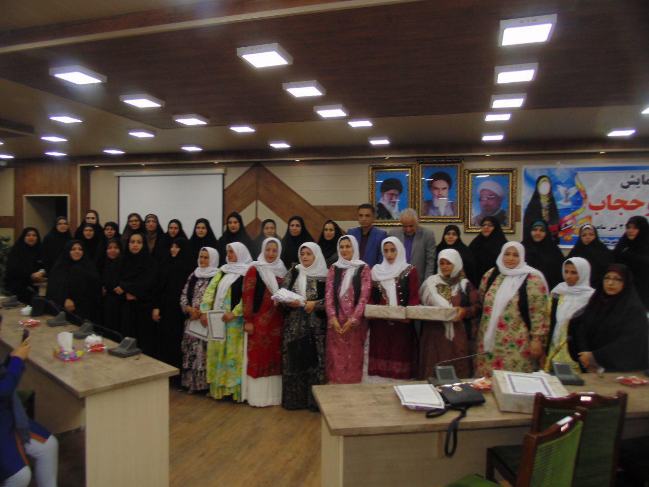 مراسم گرامیداشت هفته عفاف و حجاب در تالش+تصاویر