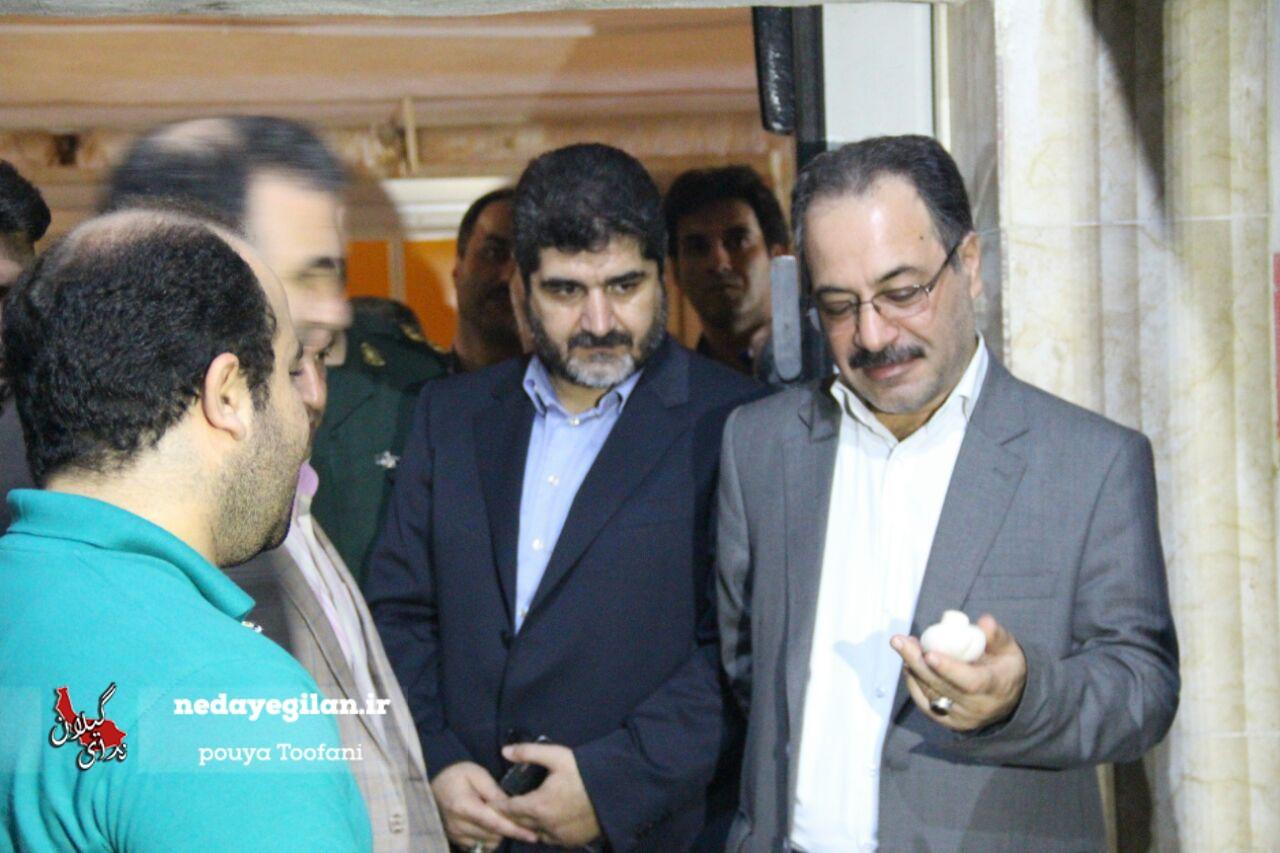 بازدید میدانی فرماندار رشت از پروژه های بخش کوچصفهان
