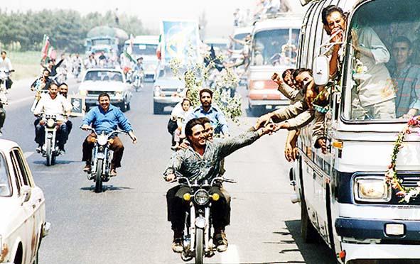 برگزاری همایش تجلیل از آزادگان گیلان در زیباکنار