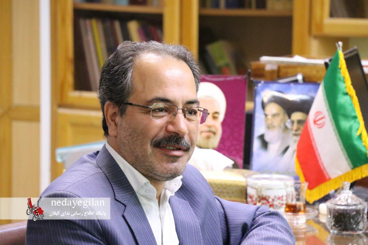 پیام خداحافظی سیروس شفقی فرماندار شهرستان رشت