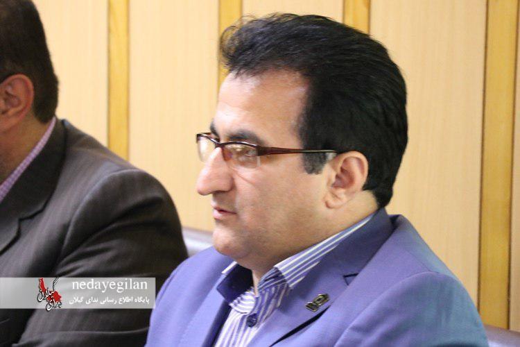 عسکر میرزایی رئیس بنیاد مسکن شهرستان رشت شد