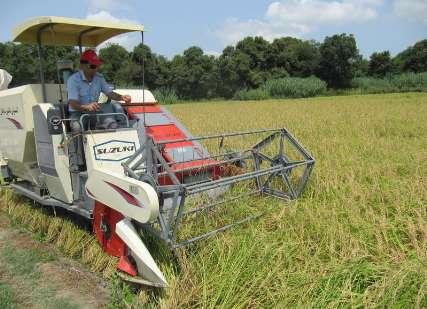 پیش بینی برداشت مکانیزه برنج در 50 درصد از اراضی تالش/محدودیتی برای اهدای تسهیلات ماشین آلات کشاورزی وجود نداد