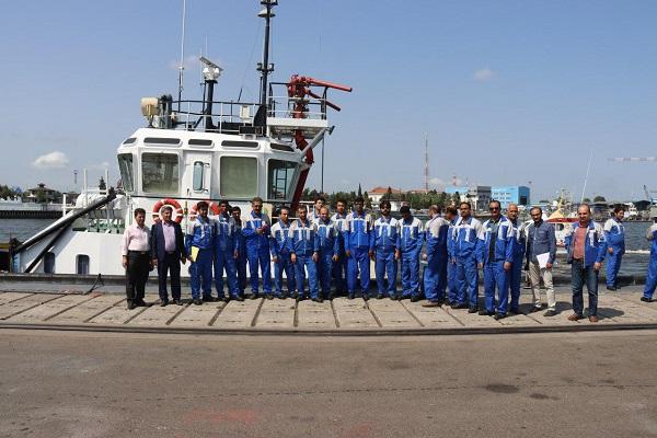 کارگاه آموزشی طرح  جستجو و نجات دریایی و مقابله با آلودگی نفتی دریا