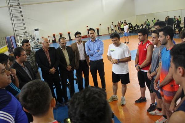 تیم ملی کاراته امیدها باحضور 5گیلانی در رشت اردو زد