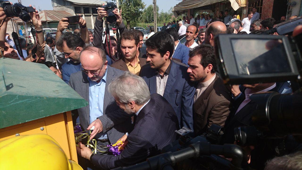 افتتاح ۴۳ پروژه هفته دولت در بخش کوچصفهان