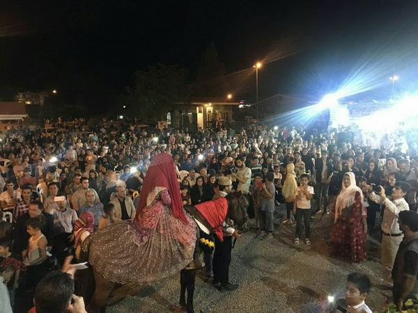 برگزاری جشنواره پیوند آسمانی در آستارا