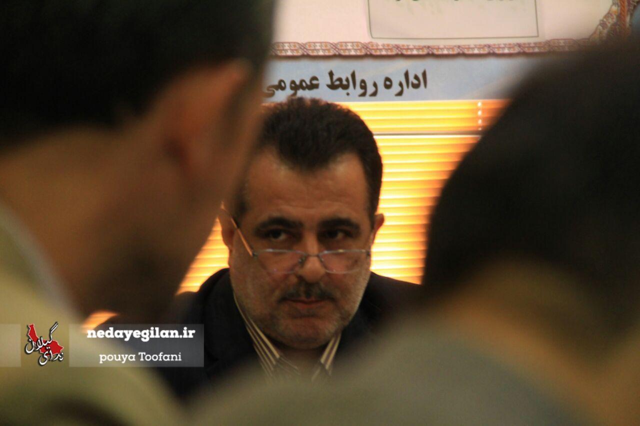 گزارش تصویری نشست خبری مدیرعامل آبفار استان گیلان