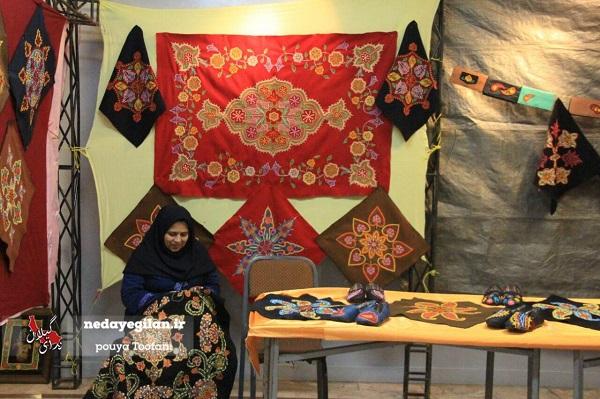 نمایشگاه اقتصاد مقاومتی در صومعه سرا برپا شد