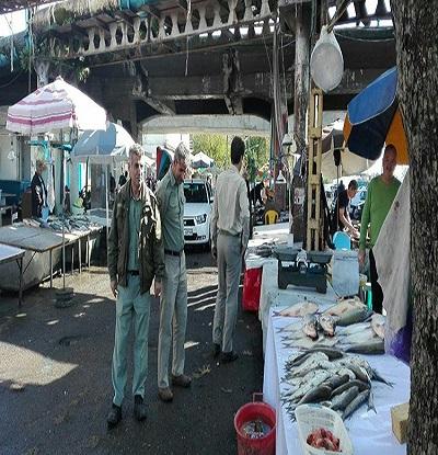 بازار های محلی گیلان توسط یگان حفاظت محیط زیست پایش می شود