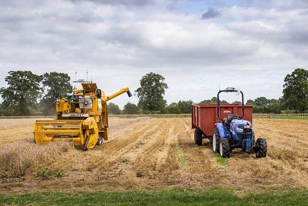 کشاورزی بدون دخالت انسان با ربات و پهپاد!