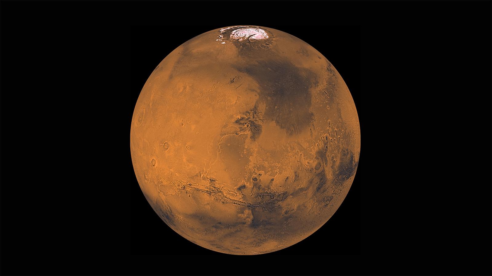 احتمال وجود یخ و آب در مریخ