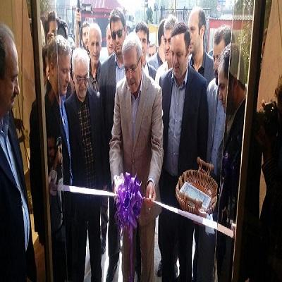 افتتاح واحد صنعتی و تولیدی شرکت سرمایه گذاری راش کیان کاسپین در منطقه آزاد انزلی