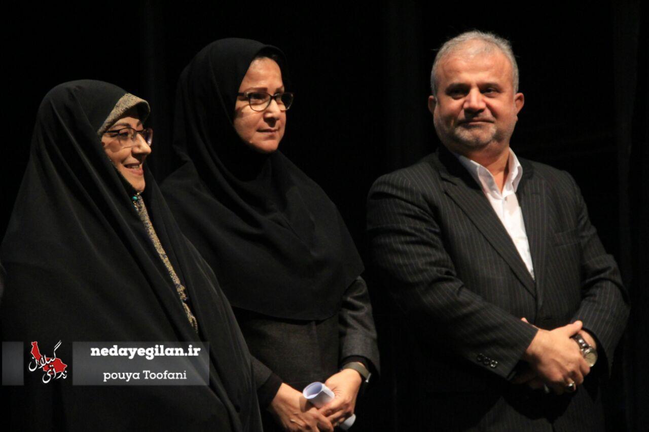 گزارش تصویری مراسم تودیع و معارفه مدیر مرکز اسناد و کتابخانه ملی استان گیلان
