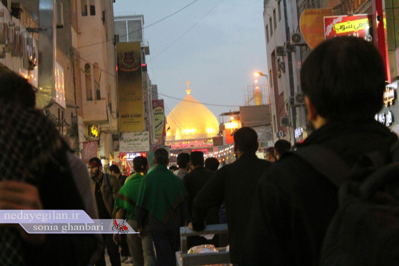 50 هزار زائر از گیلان به پیاده روی اربعین می روند