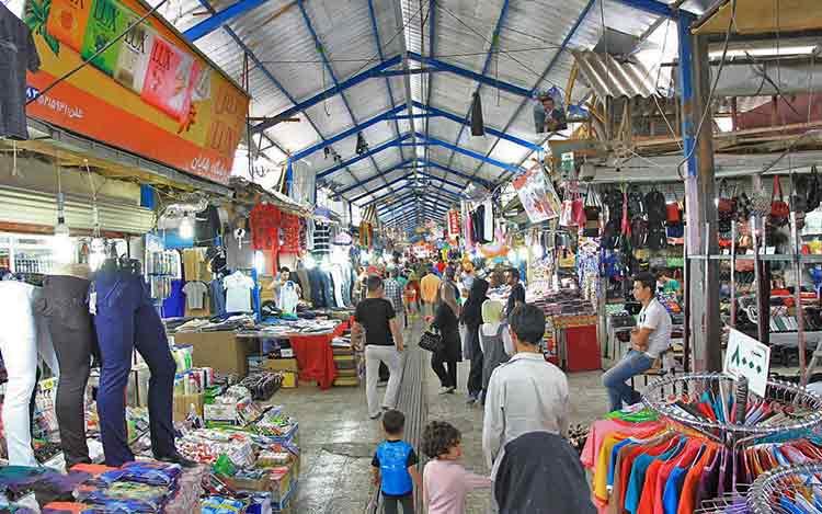 بازاریان آستارا  با مشکلات اقتصادی مواجه هستند