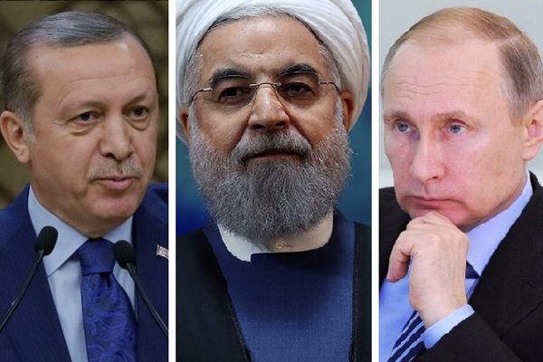 دیدار روحانی،پوتین،اردوغان در سوچی/رویارویی کلاسیک غرب و شرق در خاورمیانه جدید