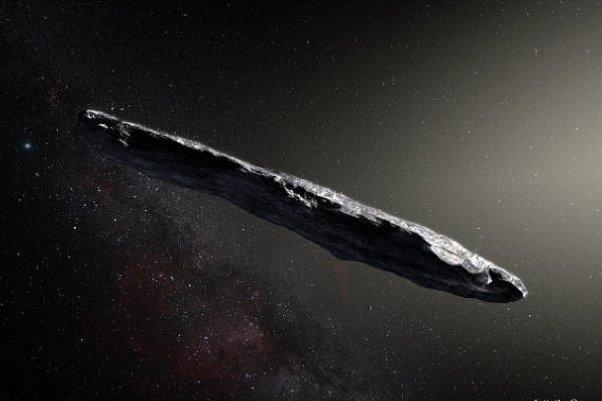 کشف سیارکی شبیه سیگار در منظومه شمسی